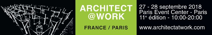 Rendez-vous sur le Salon Architect@Work – Paris